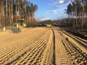 Budowa drogi do Strefy Ekonomicznej