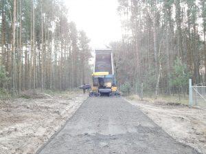 Budowa drogi pożarowej nr 65 na odcinku 3,5 km